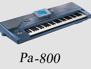 رینم کرگ Pa800 korg